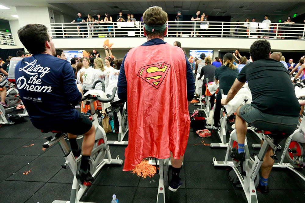 Using our financial planning superpowers at Cycle for Survival!