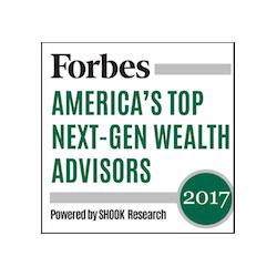Forbes America's Top Next-Gen Wealth Advisors 2017
