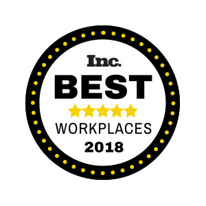 Inc. Best Places to Work 2018