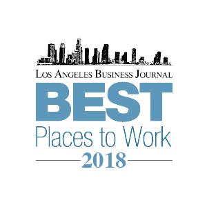 LA Business Journal Best Places to Work 2018