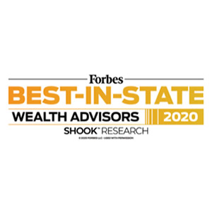 Forbe's Best in State Wealth Advisors, 2020