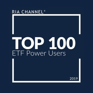 RIA Channel Top 100 ETF Power Users, 2019